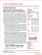 Youku: Expect Profitability in 4Q13 Driven by Strong Momentum In In-house PGC and Mobile Adoption