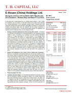 E-House (China) Holdings Ltd: Strong E-commerce Drives Better 4Q13 Results and 2014 Guidance;  Maintain Buy and Raise PT to $18.00