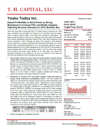 YOKU: Expect Profitability in 4Q13 Driven by Strong Momentum In In-house PGC and Mobile Adoption; Adjusting Revenue Allocation in 2014; Maintain Buy