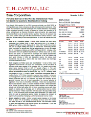 SINA: Portal Is Not Out Of the Woods; Transitional Phase for Next Few Quarters; Maintain Hold Rating
