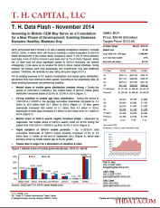 T. H. Data Flash – Qihoo 360 Technology – November 2014: Investing in Mobile OEM May Serve as a Foundation for a New Phase of Development; Existing Business Remains Healthy; Maintain BUY