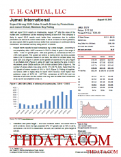 JMEI: Expect Strong 2Q15 Sales Growth Driven by Promotions and Jumei Global; Maintain Buy Rating