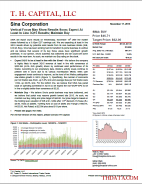 SINA: Vertical Focus May Show Results Soon; Expect At Least In Line 3Q15 Results; Maintain Buy