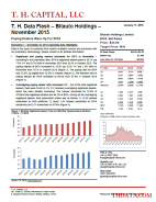 T. H. Data Flash – Bitauto Holdings (BITA) – November 2015: Paying Dealers Were Up For BITA