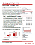 XRS: Strong Growth in Courses Offered and Enrollments Drive Upside in FY3Q16; Maintain BUY and Lower PT to $48.00 from $54.00
