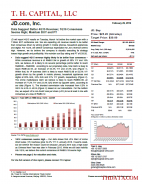 JD: Data Suggest Better 4Q15 Revenue; 1Q16 Consensus Seems High; Maintain BUY and PT
