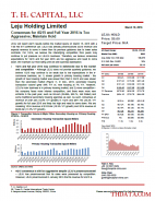 LEJU: Consensus for 4Q15 and Full Year 2016 is Too Aggressive; Maintain Hold