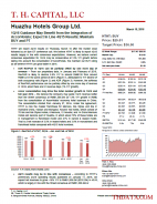 HTHT: 1Q16 Guidance May Benefit from the Integration of AccorHotels; Expect In Line 4Q15 Results; Maintain BUY and PT