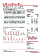 T. H. Data Flash – Cheetah Mobile Inc. (CMCM) - January 2016: International Google Play Rankings Remained Flattish Q/Q in 4Q15 and M/M in January 2016
