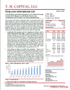 CTRP: Consolidation and Hotel Expansion Led to Better Revenue Growth; 4Q15 Margin Can Be Better Due to Less Competition, but Is Likely to be Reset; Maintain Buy