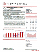 T. H. Data Flash – Autohome Inc. (ATHM) – Preliminary 3Q17: Popularity of APP Increasing; Paying Dealers Up