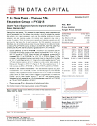 T. H. Data Flash - Chinese TAL Education Group (TAL) – FY3Q18: Slower Pace of Expansion Aims to Improve Utilization Rates; Maintain Buy