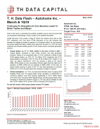 T. H. Data Flash – Autohome Inc. (ATHM) – March & 1Q18: Continuing To Strengthen Its Core Business Leads To Better Topline and Margin