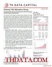 TAL: Complying With Government Regulations While Managing FY3Q19 Growth; Maintain BUY