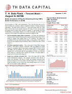 T. H. Data Flash – Tencent Music – August & 3Q19E: Better Acceptance Of Pay-For-Streaming Driving TME's Better Performance in 3Q19E