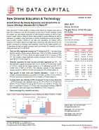 EDU: Growth Driven By Steady Expansion and Growth Of K-12 Course Offerings; Maintain BUY & Raise PT