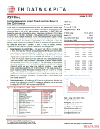 IQ: Hanging Headwinds Impact Growth Outlook; Expect In Line 3Q19 Revenue