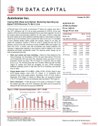 ATHM: Coping With Weak Auto Market; Marketing Spending Up; Expect 3Q19 Revenue To Be In Line