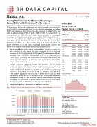 BIDU: Coping With Internal And External Challenges; Expect BIDU's 3Q19 Revenue To Be In Line