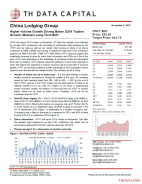 HTHT: Higher Volume Growth Driving Better 3Q19 Topline Growth; Maintain Long-Term BUY
