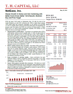 T.H. Capital - NetEase, Inc.: Steady Growth In Games and Ads Combining with Better Kaola Drives Better 1Q16 Results; Maintain Buy and Price Target