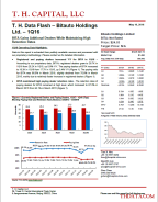 T. H. Data Flash – Bitauto Holdings Ltd. – 1Q16: BITA Gains Addtional Dealers While Maintaining High Retention Rates