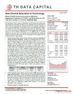 New Oriental Education & Technology: Better FY4Q16 Driven by Increase in Utilization; Aggressive Promotion in FY1Q17 Can Be Positive for Full Year 2017, but Not For FY1Q17; Maintain Buy