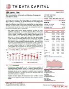 JD.com, Inc.:New Uncertainties in Growth and Margins; Downgrade from BUY to Hold